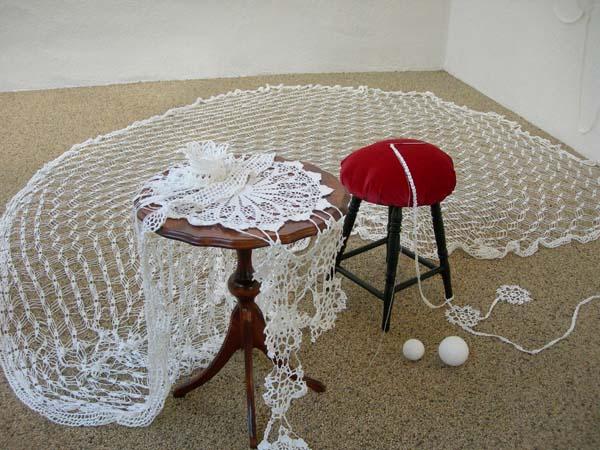 bord med stol